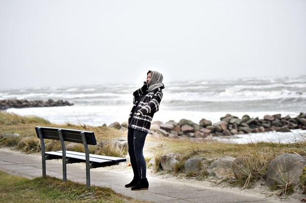 Blæsten var blid ved Nordjylland - men Læsøfærgen sejler ikke