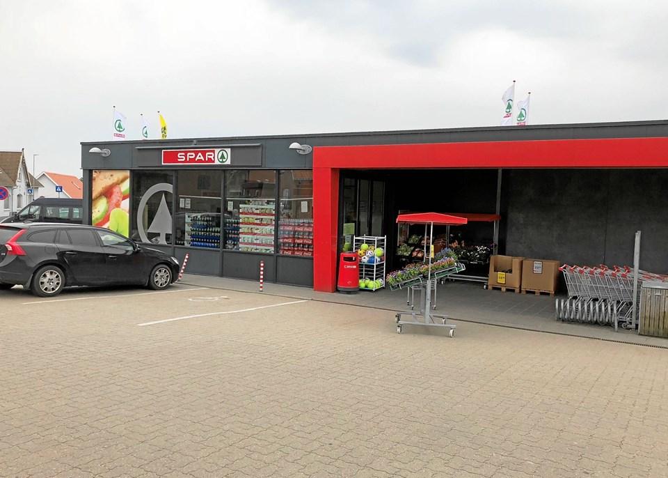 Butikken i Bested får nye ejere med udgangen af april. Privatfoto