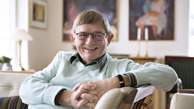Kaj Nørholm er formand for foreningen.Arkivfoto: Hans Ravn