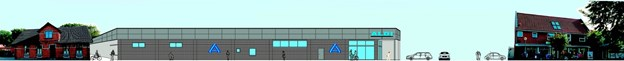 Tankerne om at etablere en ny Aldi, som skulle tage sig således ud i Østergade 10-16 i Fjerritslev, er nu ikke blot skrinlagt men har fået det endegyldige dødsstød. Tage Thomsen har købt Østergade 12 og vil sætte bygningen i stand i stedet for at rive ned. Og han er absolut ikke interesseret i at sælge den.   Arkivgrafik Nordic Localization Team