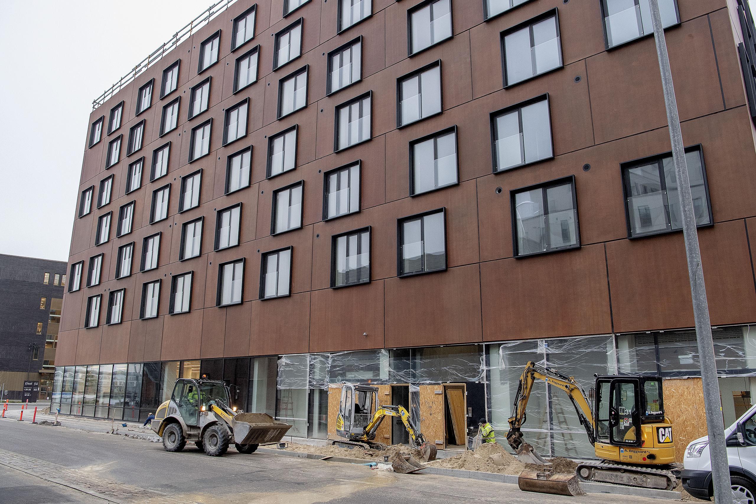 Ny Meny og Lagkagehuset er klar til åbning lige om lidt