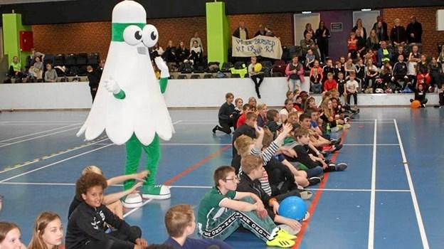 Der var også andre aktiviteter for de medvirkende børn. Privatfoto