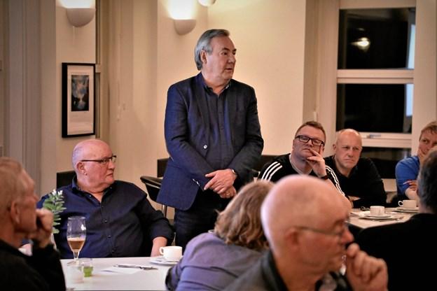 John Astrup blev valgt som ny formand for golfklubben i Hobro.    Foto: TM & E-Air-view.dk
