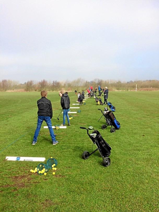 Fire golfklubber samarbejder om juniorer