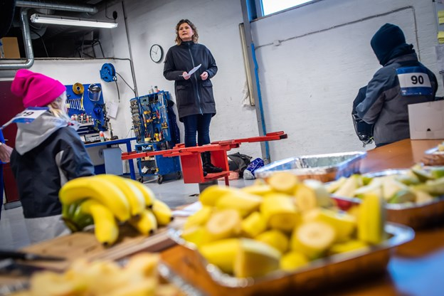 Mette Skarrup Astrup fortalte om arbejdet i Foreningen Skyggebørn. Foto: Martin Damgård Martin Damgård