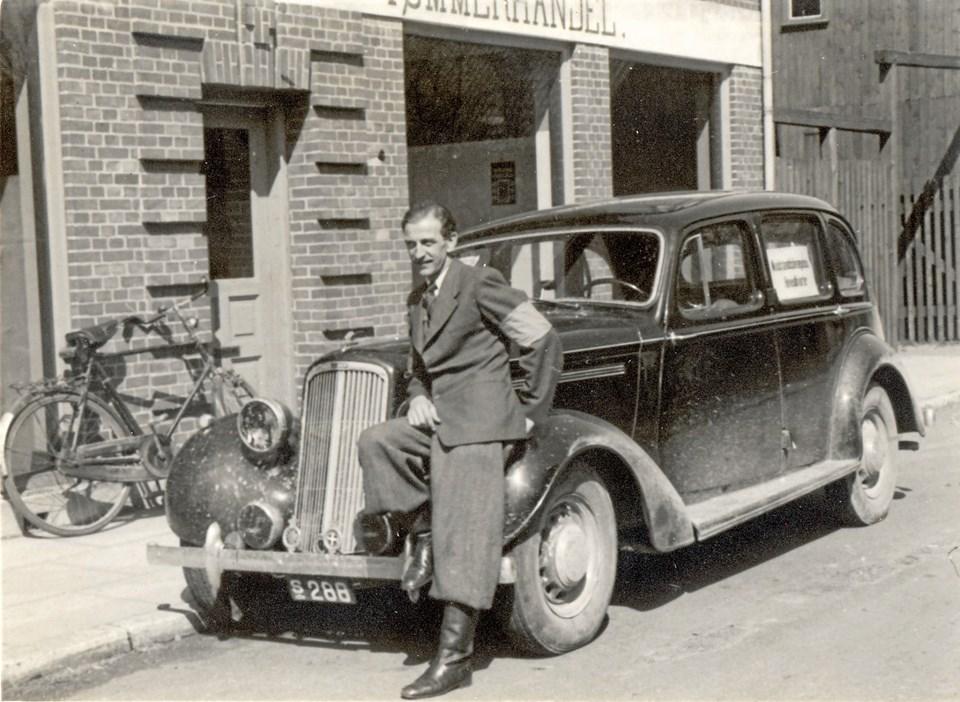 Forretningsfører Børge Sørensen, Han Herredernes Aktie-Tømmerhandel i Nygade i Fjerritslev, var delingsfører for Fjerritslev Delings 12 grupper. Ventegrupperne indgik i Han Herred Landeværn, der sammen med landeværn i Thy og på Mors udgjorde den officielle modstandsbevægelse i Thisted Amt ved befrielsen 1945.