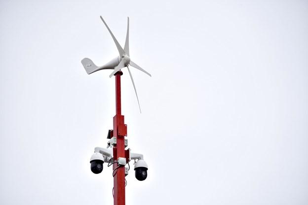 Overvågningskameraerne og masterne er flytbare enheder med egen energiforsyning, og de kan derfor uden større besvær opstilles med forholdsvis kort varsel på forskellige udvalgte indsatssteder.