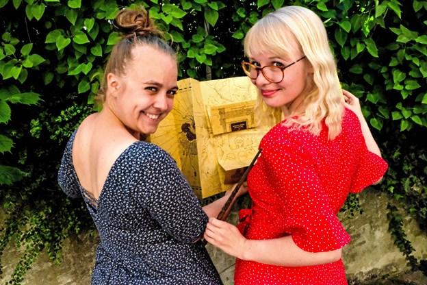 Nanna og Amalie står bag populær podcast - Harry Pottcast.Foto: Pressefoto