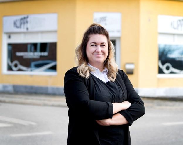 Louise Bjerring Pedersen har overtaget Klippehjørnet på Banegårdsvej i Hobro.