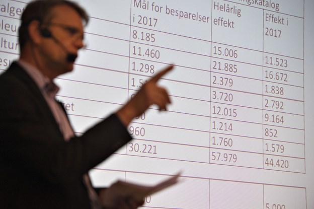 Borgmester Mikael Klitgaard mener budgettet ser fornuftigt ud. Arkivfoto: Hans Ravn