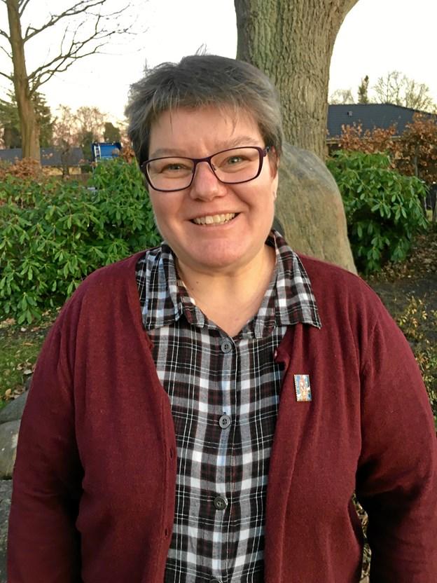 Formanden for Aalbæk Borgerforening Tina Himmelstrup fortsætter som formand. Privatfoto.