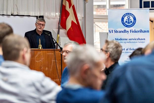 Blandt deltagerne i panelet er Claus Hjørne Pedersen, formand for Strandby Fiskeriforening. Arkivfoto: Kim Dahl Hansen