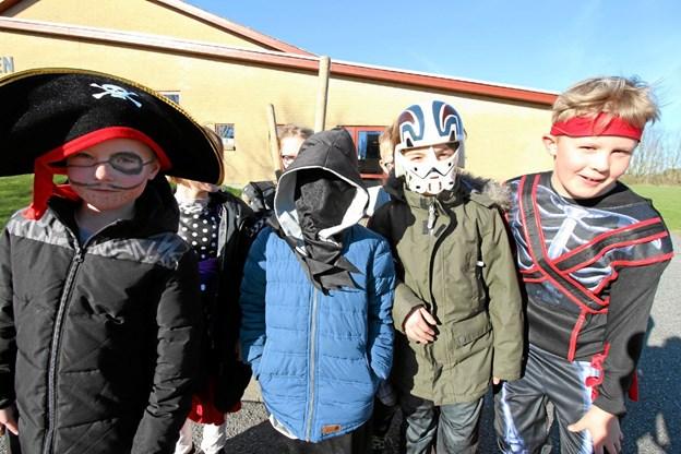 Eleverne havde virkelig brugt fantasien og lagt stor energi i de flotte udklædninger. Foto: Jørgen Ingvardsen