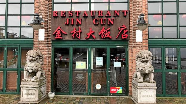 Der er nu lukket og slukket én gang for alle på restaurant Jin Cun, og den kinesiske buffet-restaurant nåede lige akkurat at fejre sit 10 års jubilæum. Foto: Torben O. Andersen