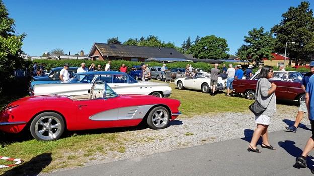 Veteranbilerne er det store trækplaster til Sommerstart. Foto: Ole Svendsen