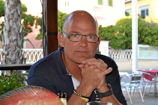 Michael Jensen er ny træner for ØBI Serie 4 Herrer.Privatfoto