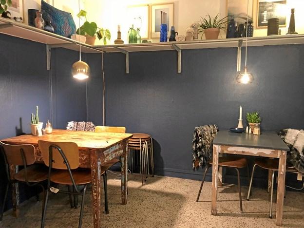 Den nyindrettede butik er en blanding af alt det, Sofie Ellegaard selv godt kan lide. Privatfoto