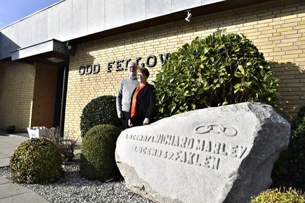 Odd Fellow fejrer 200 års jubilæum 27. april.Foto: Kurt Bering