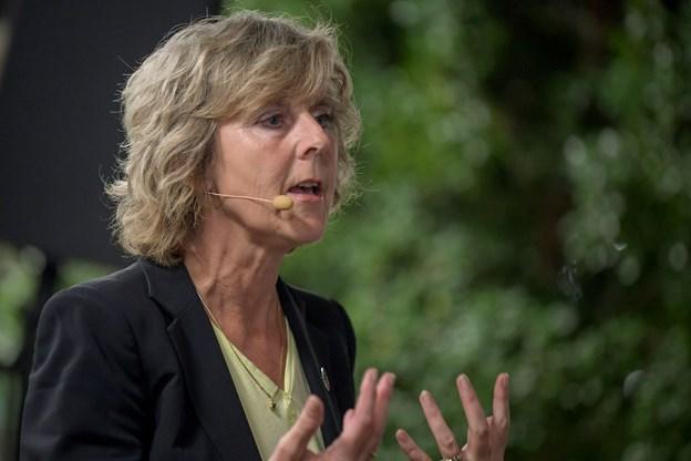 Hvis I tror at nulvækst er løsningen, så glem det, sagde Connie Hedegaard, da hun lagde op til klimadebatten. Foto: Henrik Louis