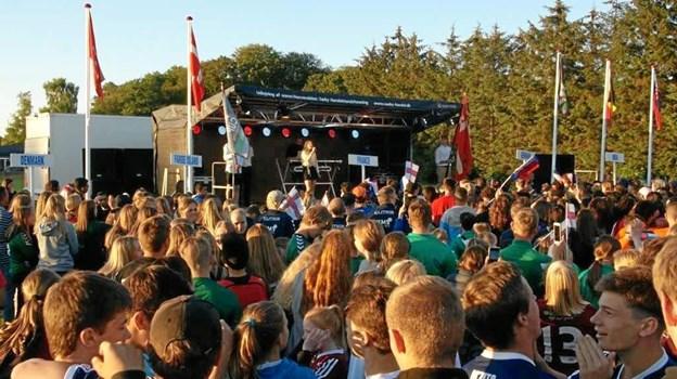 Mandag blev Dronninglund Cup skudt i gang. Foto: Dronninglund Cup