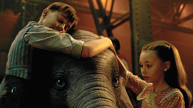 Dumbo kan flyve. Pressefoto.