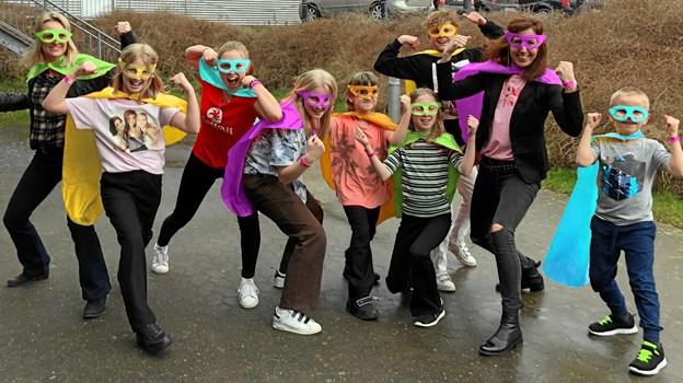 Løb afsted som en ægte superhelt til Legehelteløbet i Brønderslev. Foto: Børneulykkesfonden
