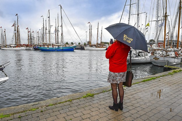 Det var som at se et gammelt postkort fra Thisted Havn.Foto: Ole Iversen
