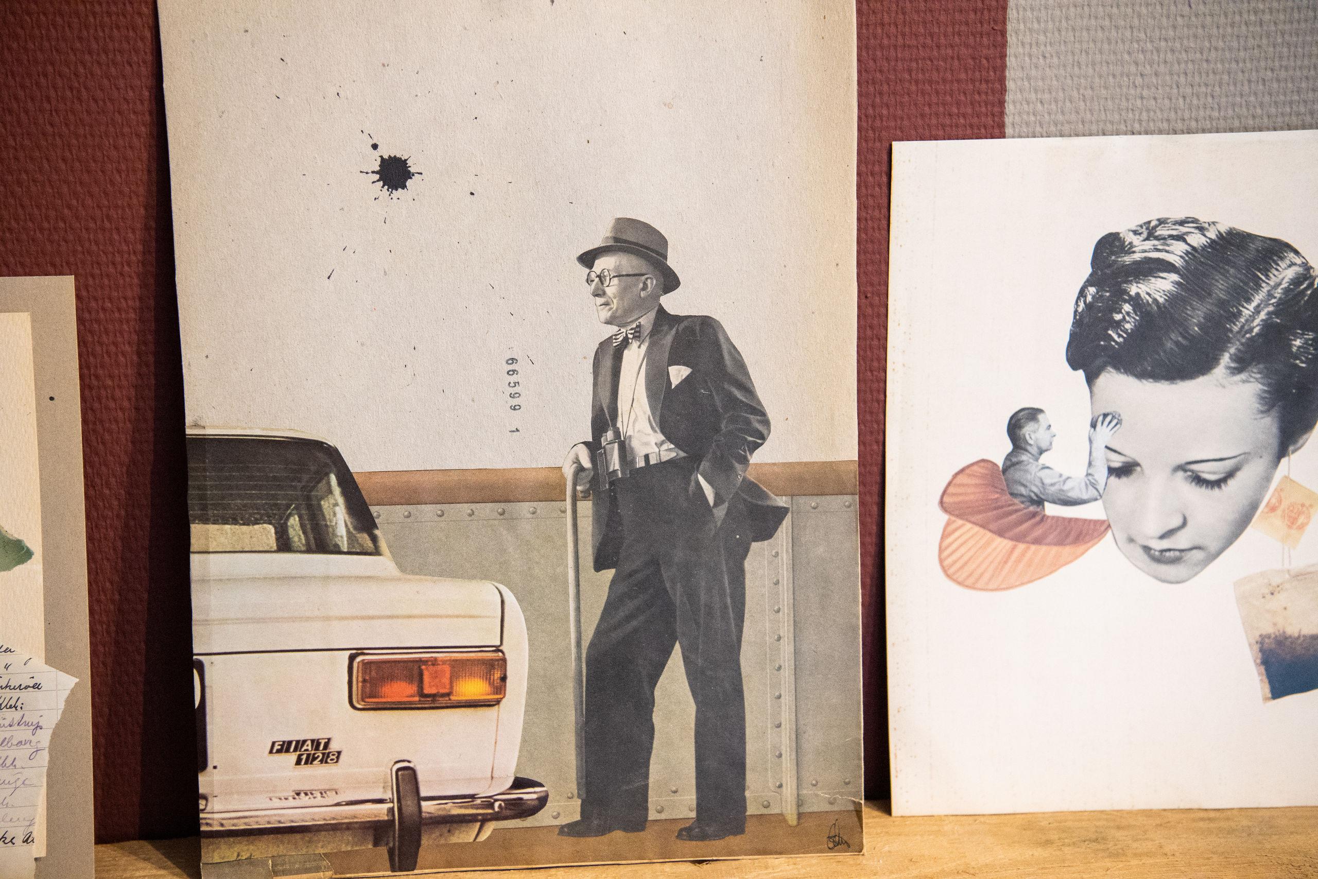 Man kan også gå på opdagelse i Gitte Lacarrieres værker. Foto: Kim Dahl