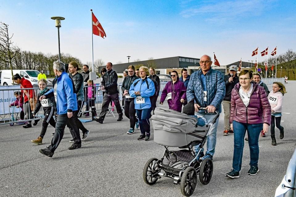 """Gående """"Family Walkers """" havde en god motionsdag.Foto: Ole Iversen Ole Iversen"""