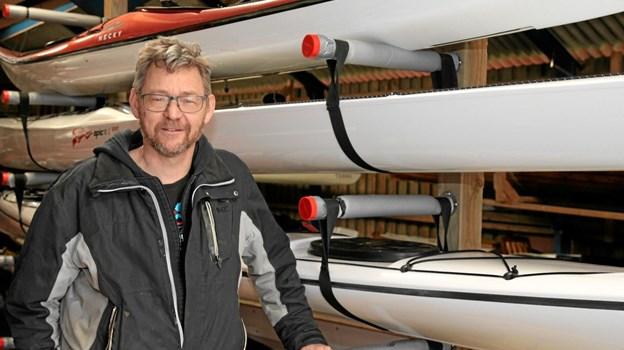 Poul Ilsøe er Gjøl Ro & Kajakklubs nye formand.