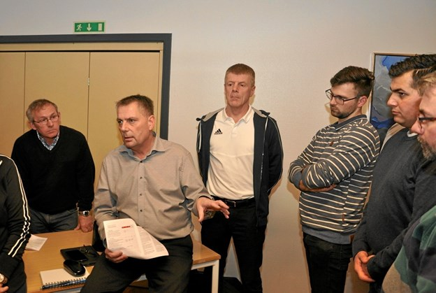 Steen Søgaard Petersen leder debatten i gruppen for foreninger og frivillige.Foto: Ole Torp Ole Torp