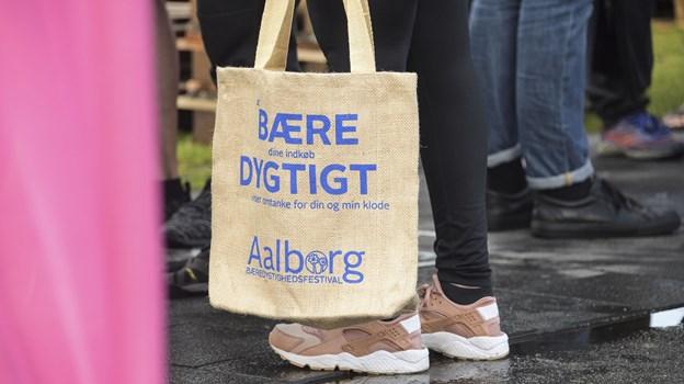 Det er 7. gang, der er Bæredygtighedsfestival i Aalborg. Arkivfoto: Claus Søndberg
