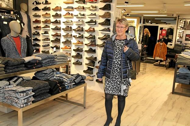 Der blev vist meget smart tøj til modeopvisningen. Foto: Flemming Dahl Jensen