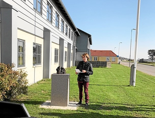 Vrensted-kunstner leverer værk til bosted i Kalundborg