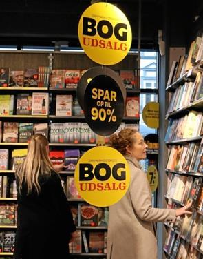 Bogudsalg i Nykøbing