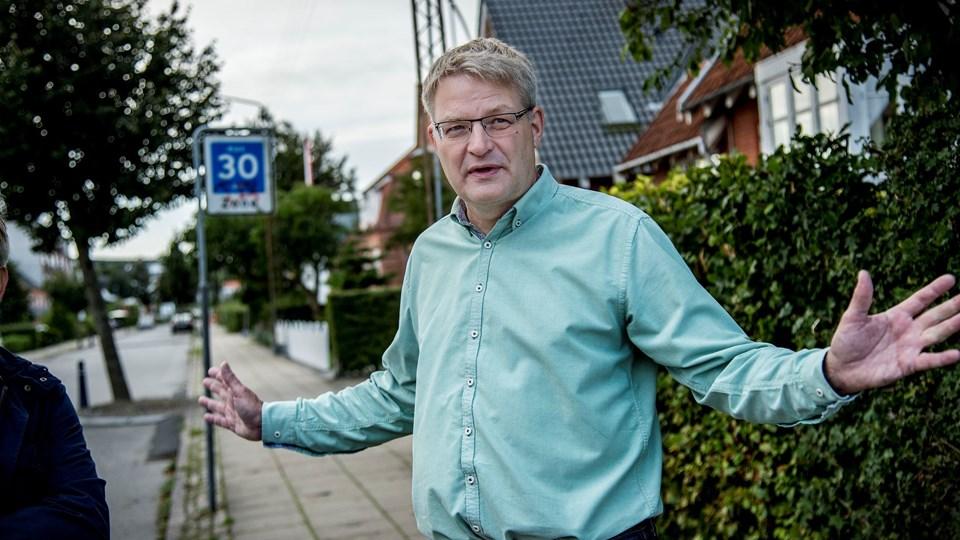 Lars Mortensen og en række borgere i vestbyen har påvirket kommunen til at droppe nedrivning af huset på Ny Kastetvej. Arkivfoto: Sarah Würtz