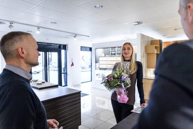 Anna Krogholm kan senere komme og være med at vælge sit køkken.Foto: Nicolas Cho Meier Nicolas Cho Meier