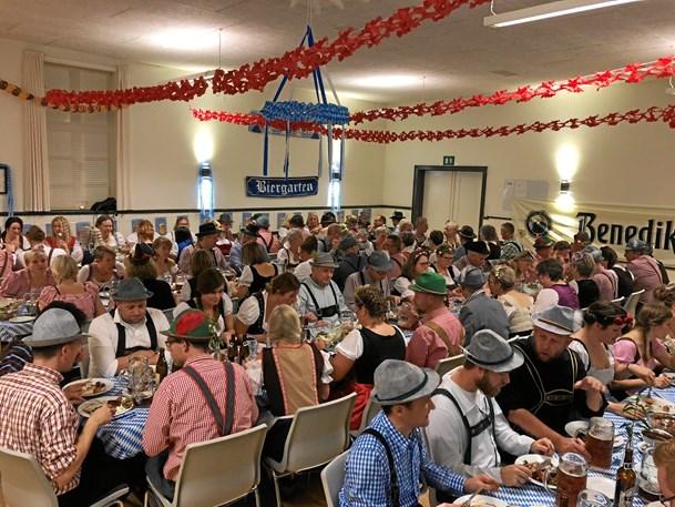 Oktoberfest med fuld skrue