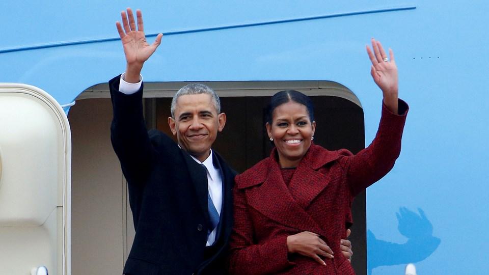 Obama-parret skal muligvis producere indhold til Netflix i fremtiden. Foto: Reuters/Brendan Mcdermid