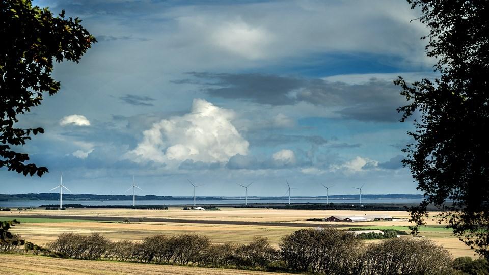 Når planen er endeligt godkendt i såvel Aalborg som Vesthimmerlands Kommuner er formalia på plads for Danmarks største landbaserede vindmøllepark. Arkivfoto: Torben Hansen