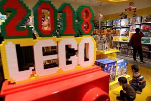 Lego stopper nedtur fra 2017 - salget vokser igen
