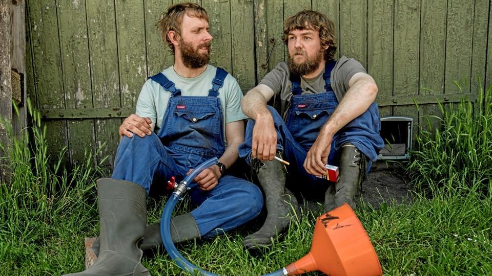 Kasper Gross og Jonas Mogensen (th.) har arbejdet sammen på flere projekter gennem årene. Nu er de aktuelle med et af de større. Foto: Per Arnesen/TV 2