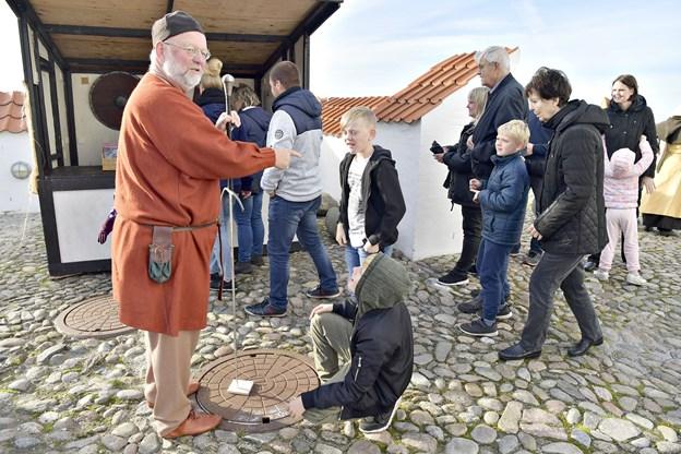 Middelaldermarked på Vitskøl KlosterFoto: Bente Poder