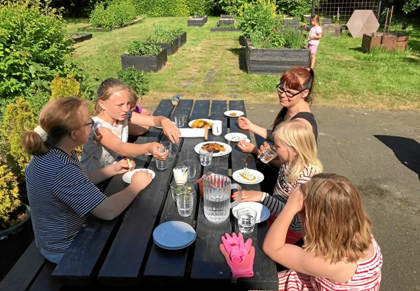 Nordea Fond støtter 4H projekt 3 år til