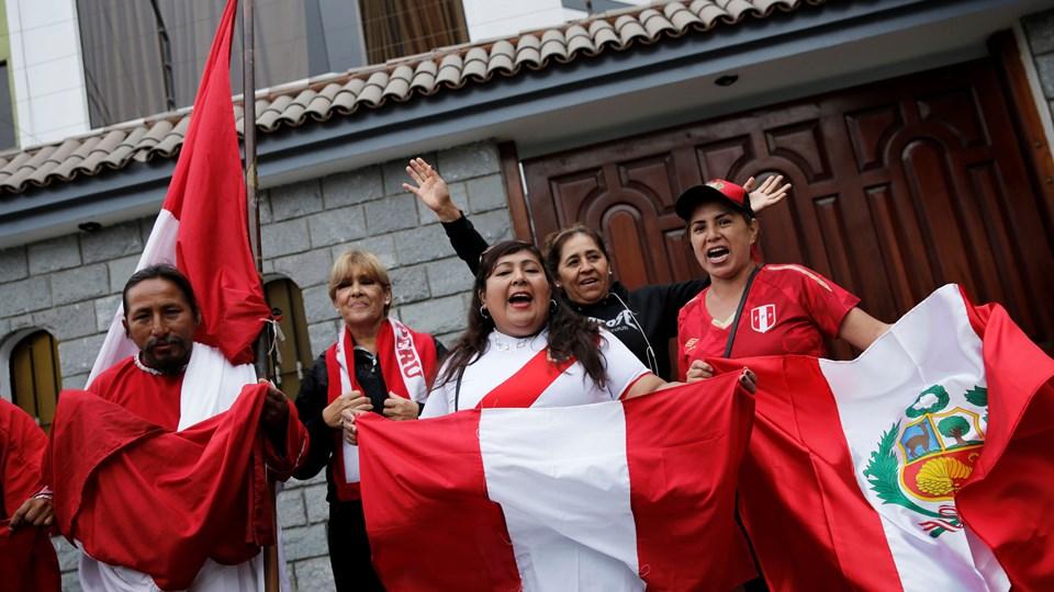 Det skabte glæde i Peru, da en schweizisk domstol torsdag midlertidigt ophævede Paolo Guerreros dopingkarantæne, så han kan deltage ved VM i fodbold. Foto: Janine Costa/Reuters