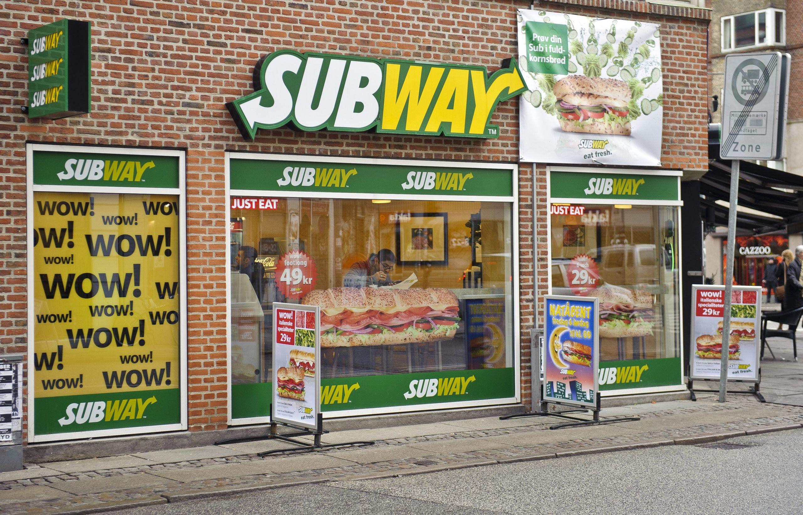 Sandwich til en 10'er: Subway fejrer fødselsdag
