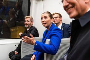 Mette F. om klimakritik af metro: En mærkelig diskussion
