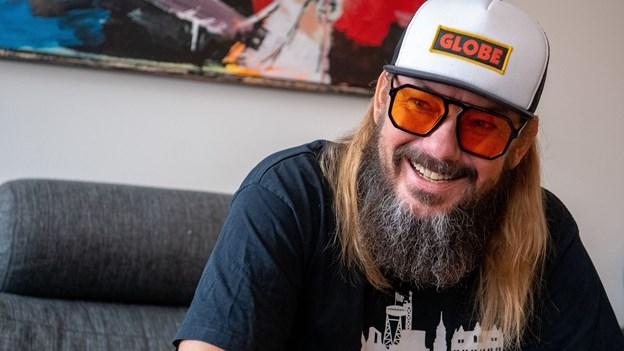 Jonny Hefty fylder 50: Sådan blev den fattige undergrundskunstner en anerkendt musiker