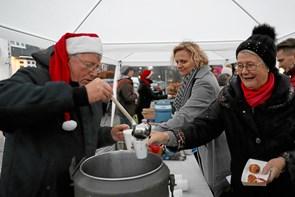 Borgerforeningen tændte julelyset