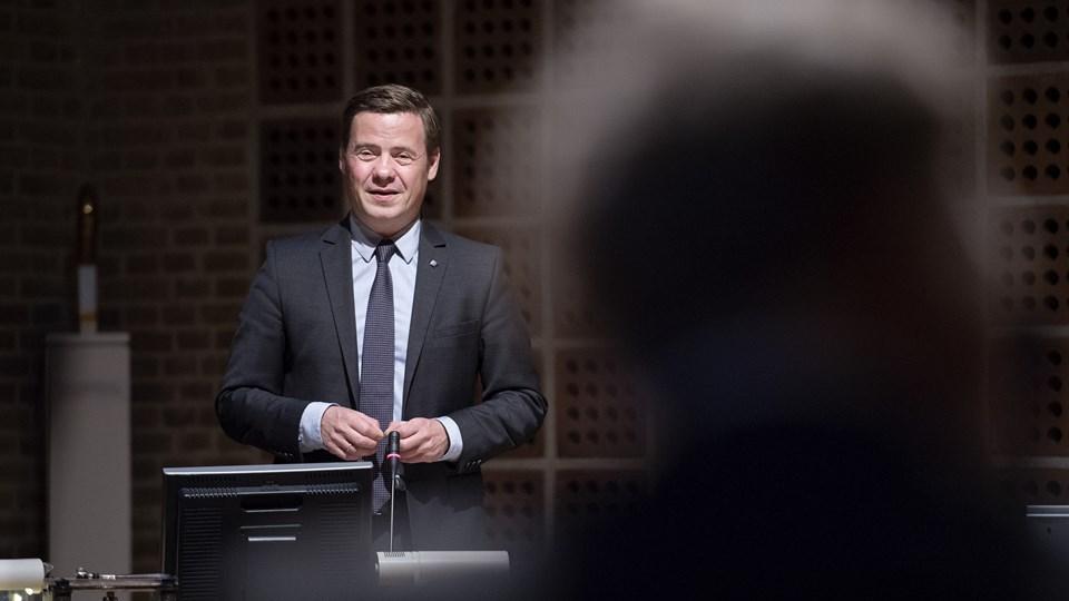 Borgmester Thomas Kastrup-Larsen (S): - Vi skal nok finde de penge, der kræves. Arkivfoto: Lars Pauli